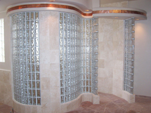 decorative windows for bathrooms pittsburgh corning glass.htm glass block construction phoenix dbs inc  glass block construction phoenix dbs inc